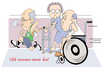Old Runners Never Die